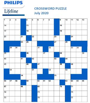 July 2020 Crossword NL Blank