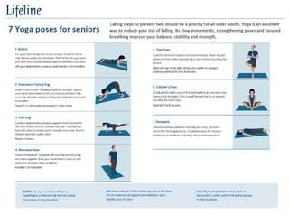 Senior Yoga Exercises