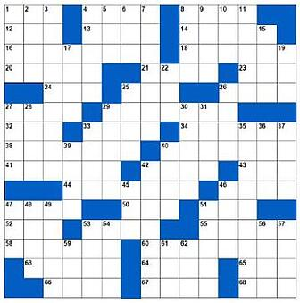 December crossword
